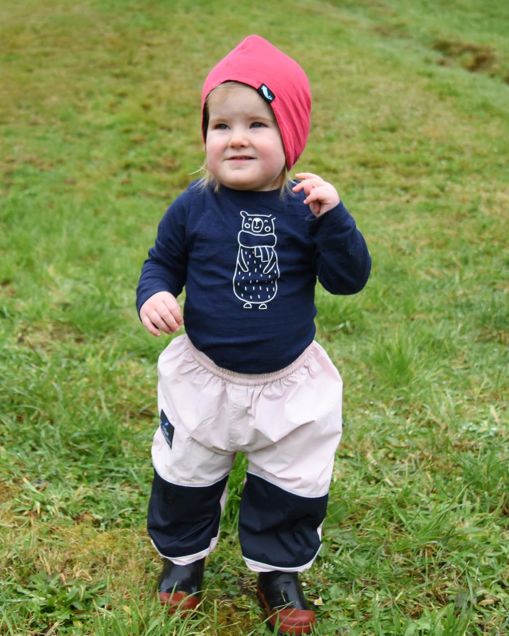 Lightweight Overpants – Pink/Navy