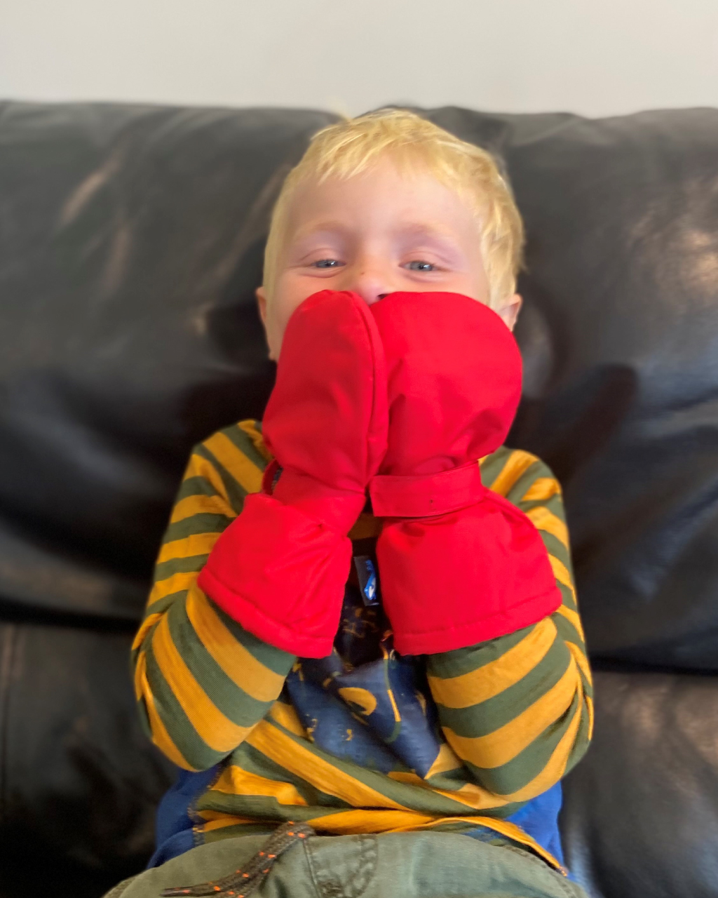 Baby & Toddler Mitts V2 – Red